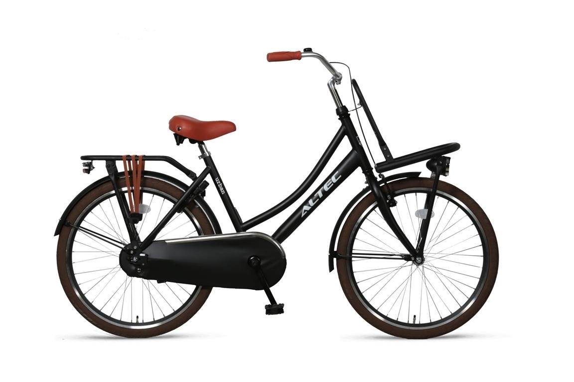 Altec-Urban-meisjesfiets-22inch-Transportfiets-zwart-Nieuw