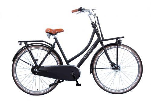 Altec-Retro-Transportfiets-Dames-Zwart-57-cm-2018
