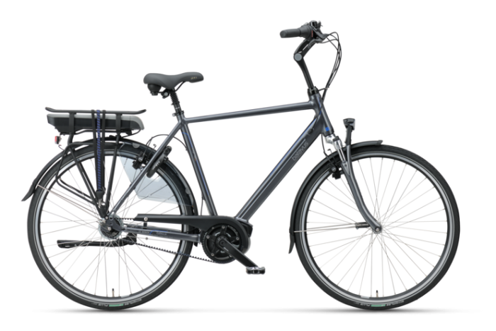Batavus Wayz E-go®Active PLUS Exclusive Elektrische herenfiets titan BE500358_H_C