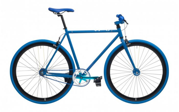Cheetah 3.0 prey fixed gear mat-blauw