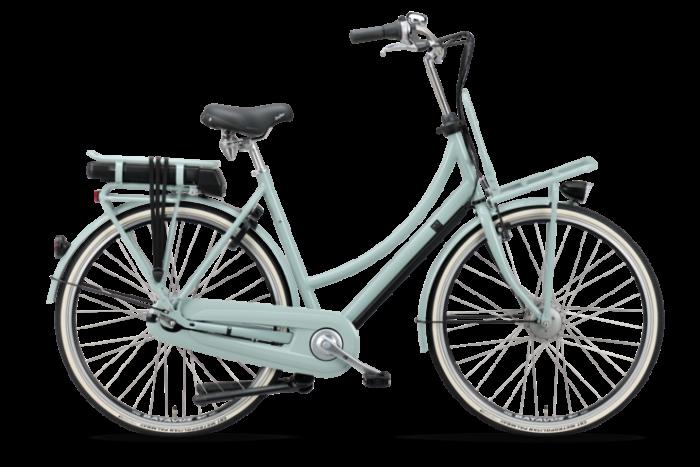 De Batavus CNCTD. E-go® Elektrische damesfiets 28 inch BE101073_H_C licht blauw