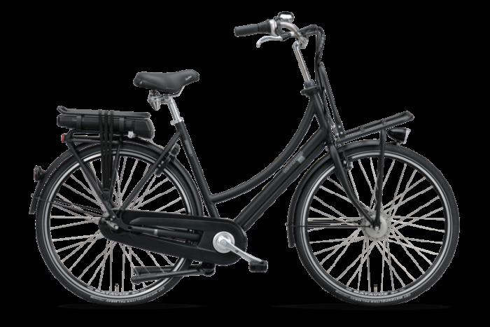 De Batavus CNCTD. E-go® Elektrische damesfiets 28 inch BE101073_H_C zwart