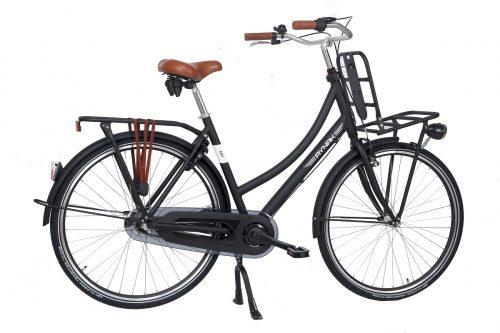 Aynak Ima Transportfiets 3-Speed mat-zwart