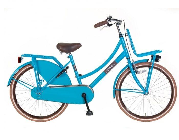 Popal Urban Basic blauw Transportfiets