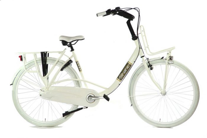 Static Mary moederfiets 28 inch creme