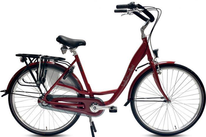 Urbano Mona n3 Moederfiets 28 inch Bordeaux Rood