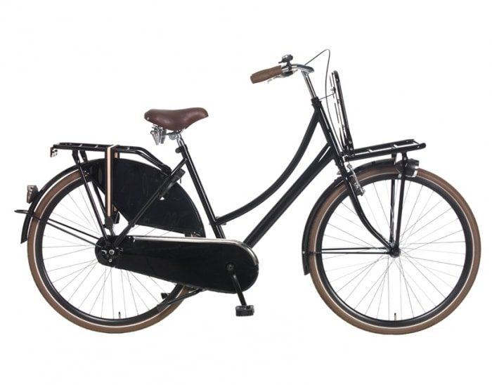 popal transport 53cm 28inch Glans Zwart