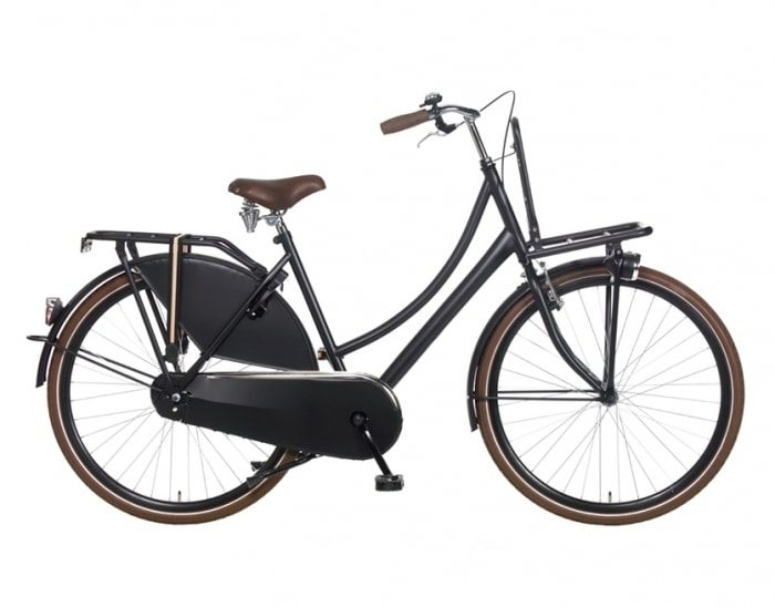 popal transport 53cm 28inch mat-zwart