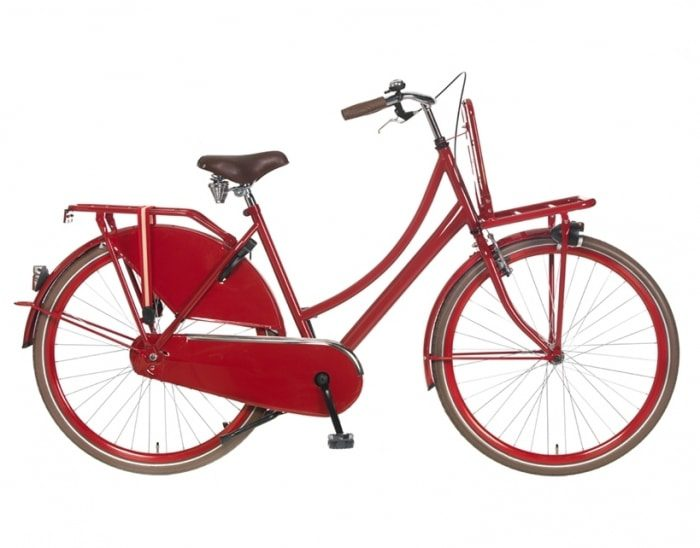 popal transport 53cm 28inch rood