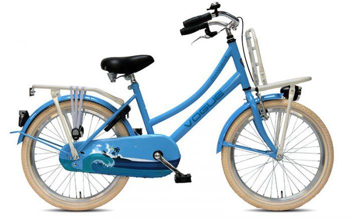 Vogue Transporter Meisjesfiets 20 inch Blauw