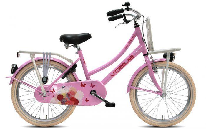 Vogue Transporter Meisjesfiets 20 inch Roze