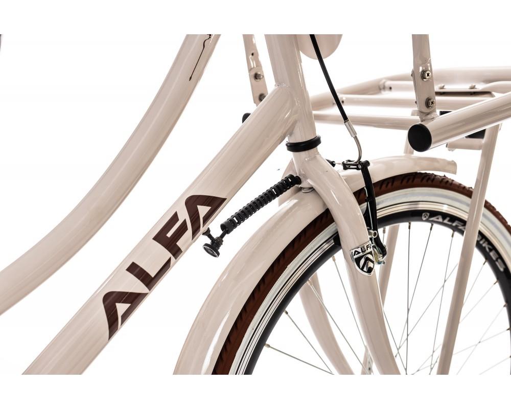Alfa Innovador Transporter Meisjesfiets 26 inch Beige 4