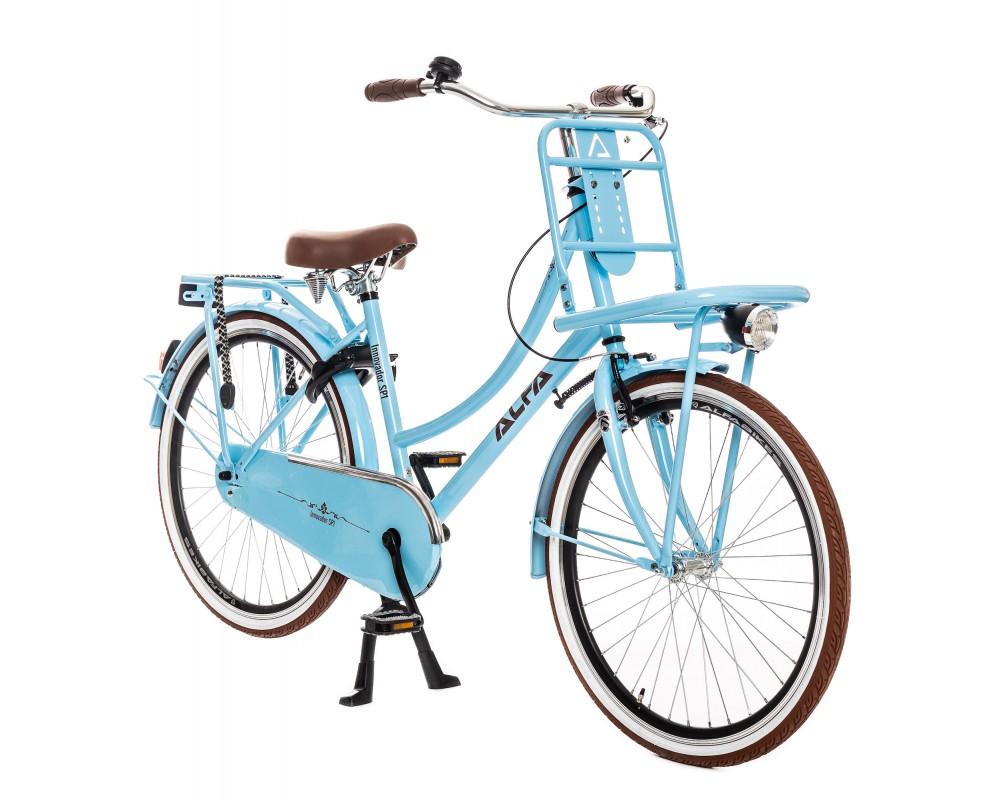 Alfa Innovador Transporter Meisjesfiets 26 inch licht blauw 2