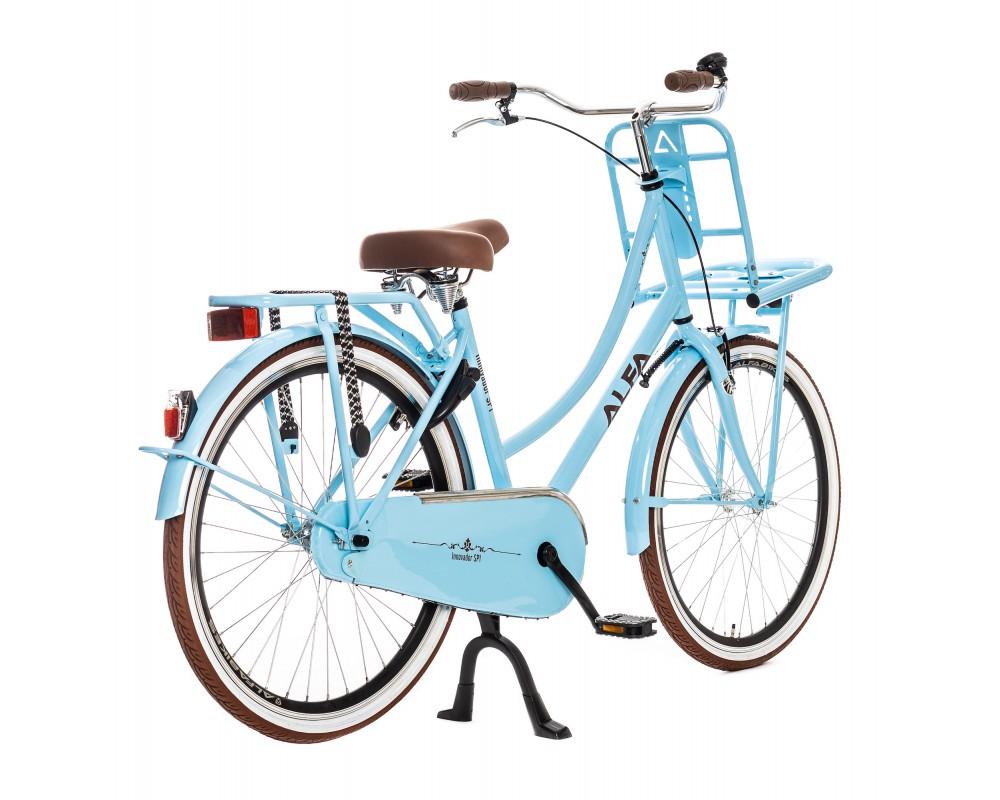 Alfa Innovador Transporter Meisjesfiets 26 inch licht blauw 3