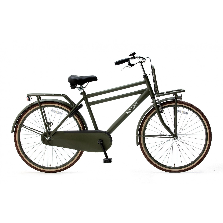 Nogan Vintage Jongensfiets 26 inch Transportfiets Army Green Spirit Cargo Transportfietsen Popal Daily Dutch